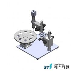 금속 절단 원형 나이프 검사 시스템