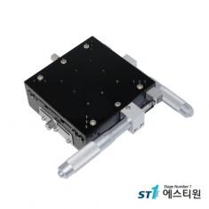 알루미늄 수동 XY축 스테이지 120X120 [SLY120-RM]