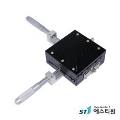 알루미늄 수동 XY축 스테이지 120X120 [SLY120-CM]