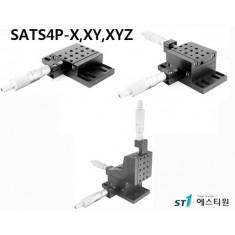 [SATS4P Series] Aluminum Ball Bearing Translation Stage