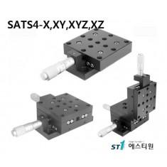 [SATS4 Series] Aluminum Crossed-Roller Bearing Translation Stage