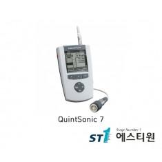 초음파코팅두께측정기 비파괴, 최대5개층 동시 두께측정, SIDSP 센서, QSoft [QuintSonic 7]