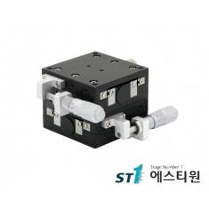 [SGFY60-50L] 알루미늄 틸트(고니어) 스테이지 60 x 60