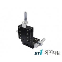 알루미늄 XZ축 스테이지 60×60 (수직타입) [SLEV60-L-C2]