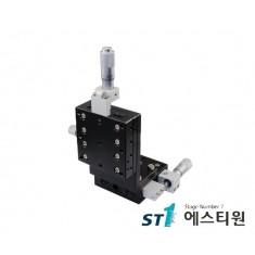 알루미늄 XZ축 스테이지 90×90 (수직타입) [SLEV90-L-C2]