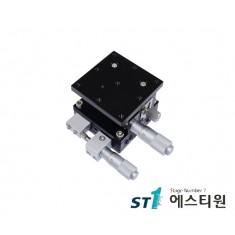 알루미늄 XZ축 스테이지 40×40 (수평타입) [SLE40-L]