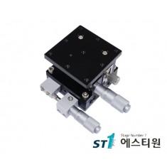 알루미늄 XZ축 스테이지 60×60 (수평타입) [SLE60-L-2]