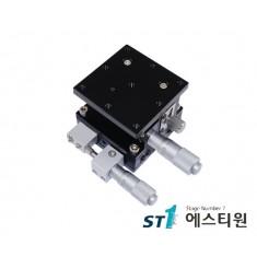 알루미늄 XZ축 스테이지 90×90 (수평타입) [SLE90-L-2]
