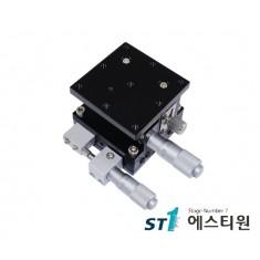 알루미늄 XZ축 스테이지 125×125 (수평타입) [SLE125-L-2]