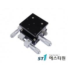 알루미늄 XYZ축 스테이지 (수평방향) 125x125 [SLD125-LM-2]