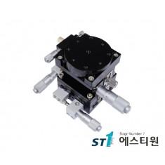 알루미늄 XYZR축 스테이지 [SLT125-LM-2]